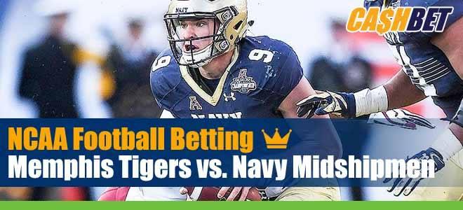 Memphis Tigers vs. Navy Midshipmen
