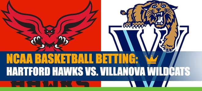Hartford Hawks vs. Villanova Wildcats College Basketball best bets and odds