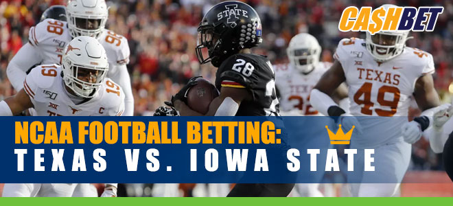 Iowa State Cyclones vs. Texas Longhorns NCAAF Betting preview and Odds