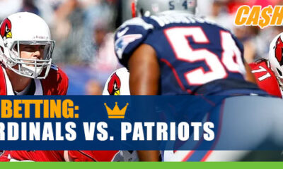 Arizona Cardinals vs. New England Patriots NFL betting analysis and odds
