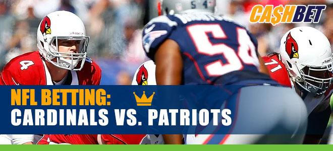 Arizona Cardinals vs. New England Patriots NFL betting analysis and odds