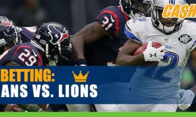Houston Texans vs. Detroit Lions NFL best bets and odds