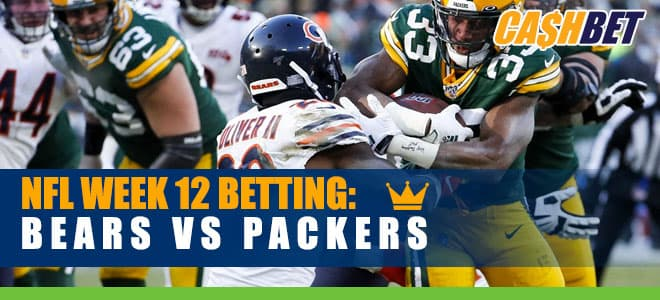 Chicago Bears at Green Bay Packers NFL betting odds, preview and picks