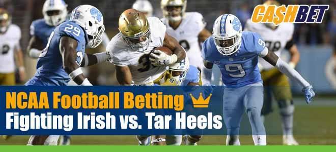 Notre Dame Fighting Irish vs. North Carolina Tar Heels
