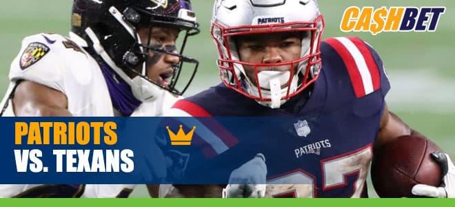 New England Patriots vs. Houston Texans NFL odds and picks