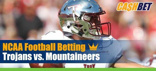 Troy Trojans vs. Appalachian State Mountaineers