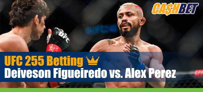 UFC 255 Betting Figueiredo vs. Perez
