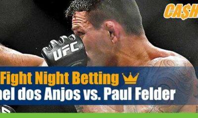 UFC Fight Night 182 Betting Dos Anjos vs Felder