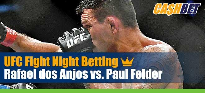 UFC Fight Night 182 Betting Dos Anjos vs Felder