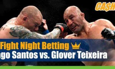UFC on ESPN 17 Betting Santos vs Teixeira