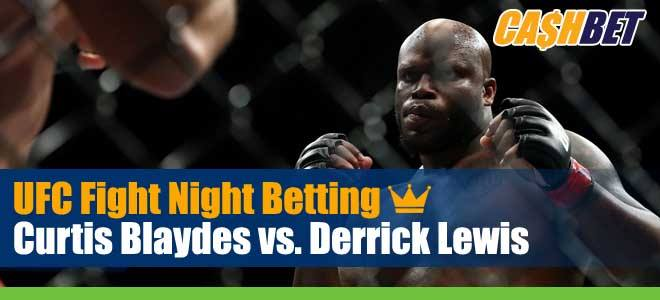 UFC on ESPN 18 Betting: Blaydes vs. Lewis Odds, Picks and Previews