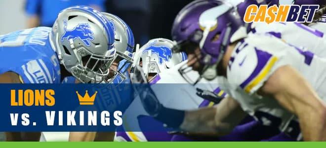 Detroit Lions vs. Minnesota Vikings NFL betting preview, odds and picks