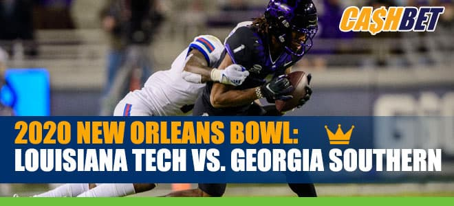 2020 New Orleans Bowl Betting: Louisiana Tech vs. Georgia Southern betting odds and picks
