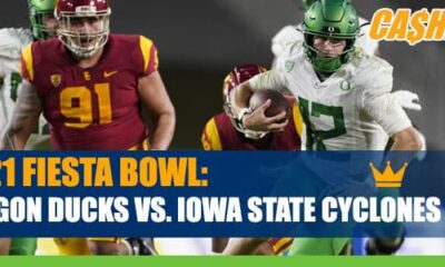 2021 Fiesta Bowl Betting: Oregon vs. Iowa State Odds and predictions