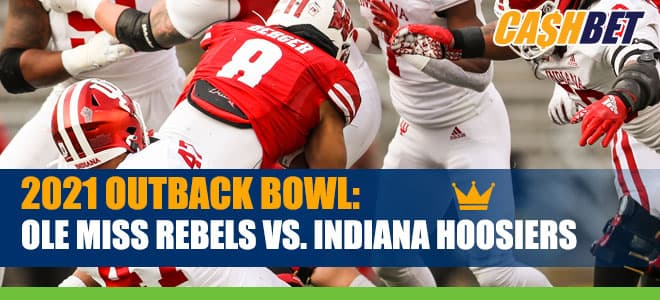 2021 Outback Bowl Ole Miss Rebels vs. Indiana Hoosiers Matchup Odds and Picks