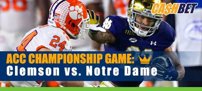ACC Championship Game Clemson vs. Notre Dame BettingOdds and picks