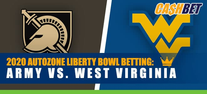 2020 AutoZone Liberty Bowl Betting: Army vs. West Virginia Odds and Predictions