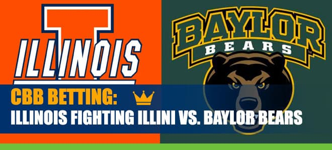 Illinois Fighting Illini vs. Baylor Bears NCAA Basketball picks and odds
