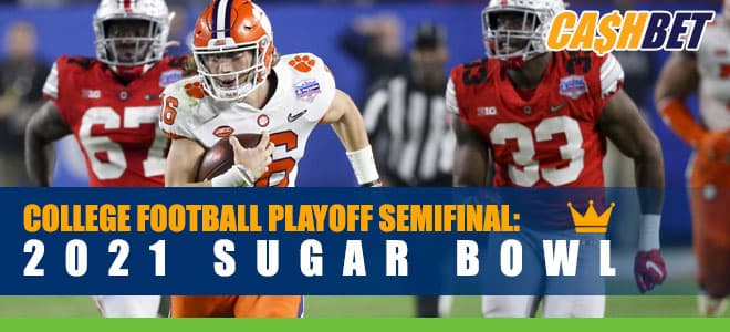 2021 Sugar Bowl Ohio State Buckeyes vs. Clemson Tigers Matchup Odds and Picks