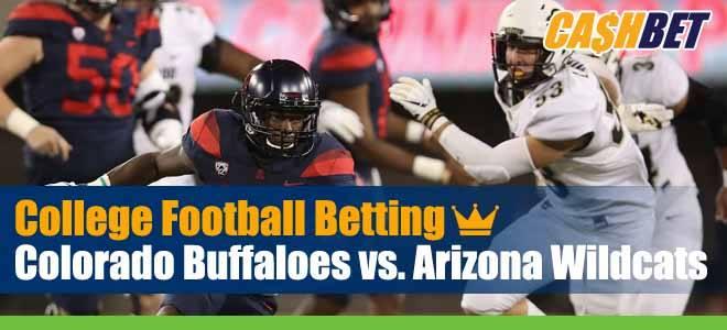 Colorado Buffaloes vs. Arizona Wildcats