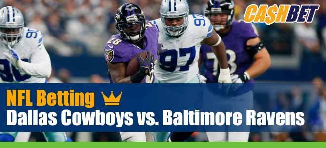 Dallas Cowboys vs. Baltimore Ravens