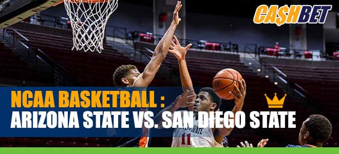 San Diego State Aztecs vs. Arizona State Sun Devils NCAAB betting odds and picks