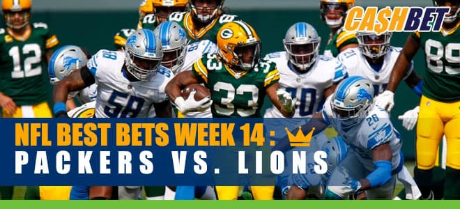 NFL Week 14 Green Bay Packers vs. Detroit Lions Betting preview