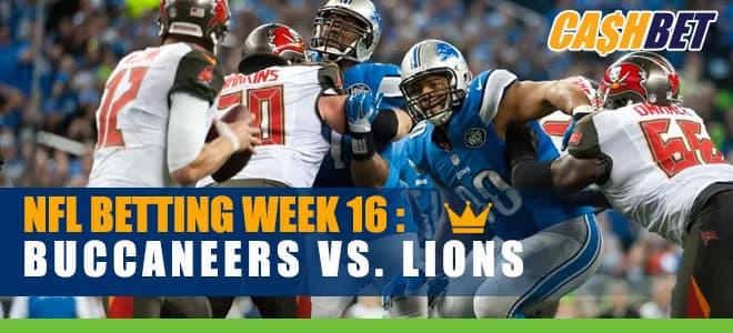 Tampa Bay Buccaneers vs. Detroit Lions NFL Week 16 Betting Odds and Picks