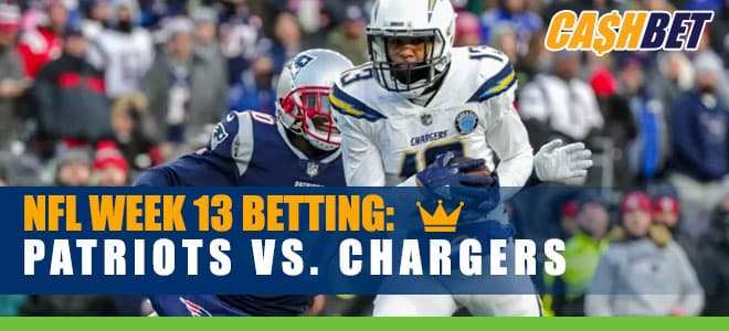 New England Patriots vs. Los Angeles Chargers NFL Week 13 Odds and Picks