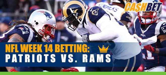 New England Patriots at Los Angeles Rams NFL Week 14 Odds and Picks