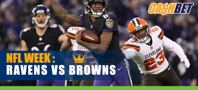 Baltimore Ravens vs. Cleveland Browns NFL Week 14 betting odds and picks