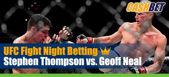 UFC Fight Night 183 Thompson vs. Neal