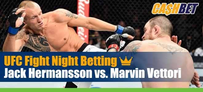 UFC on ESPN 19 Betting Hermansson vs. Vettori