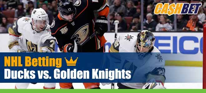 NHL Playoff Betting: Ducks vs. Golden Knights Picks, Betting Predictions and Previews