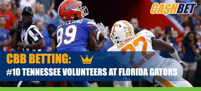 Tennessee Volunteers vs. Florida Gators Betting on NCAA Basketball