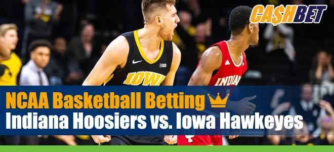 Indiana Hoosiers vs. Iowa Hawkeyes