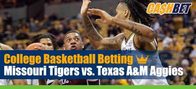 Missouri Tigers vs. Texas A&M Aggies