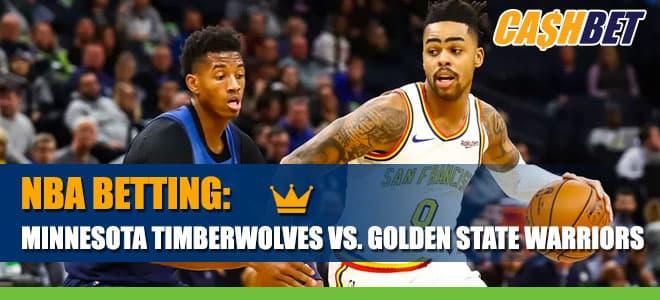 NBA Betting: Minnesota Timberwolves vs. Golden State Warriors Betting Information