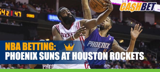 Phoenix Suns vs. Houston Rockets Betting NBA Odds, Picks and Predictions 01/20/21