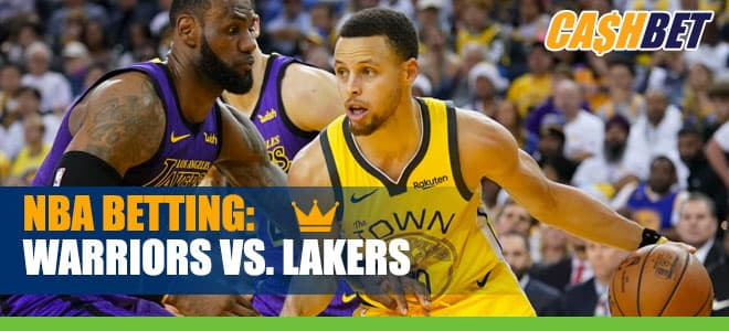 Golden State Warriors vs. Los Angeles Lakers Betting Preview and Odds