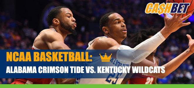 NCAA Basketball: Alabama Crimson Tide at Kentucky Wildcats betting odds and picks
