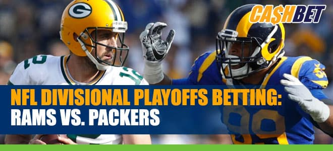 NFL Divisional Playoffs : Los Angeles Rams vs. Green Bay Packers Betting odds