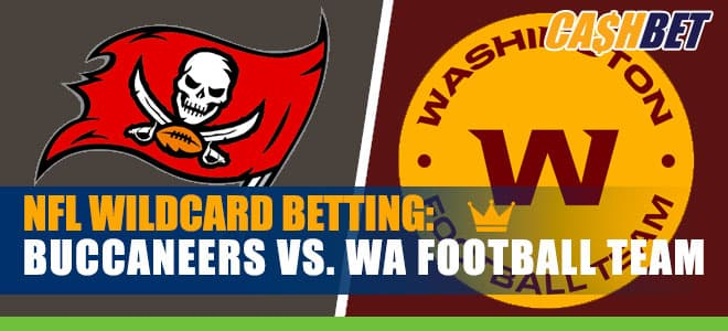 Tampa Bay Buccaneers vs. Washington Football Team Wild Card Weekend Betting