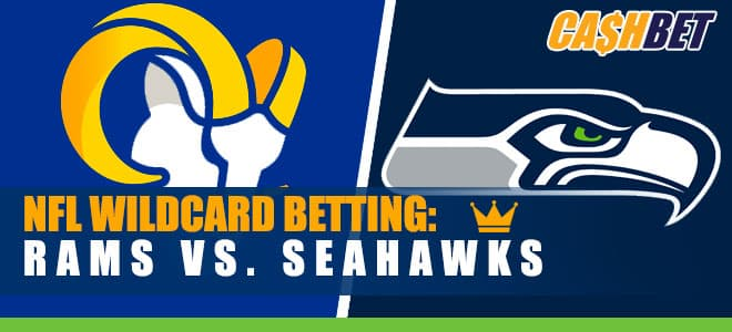 Favored Seahawks Host Rams on WildCard Weekend Betting NFL