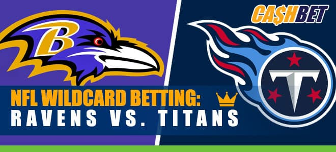 NFL Wild Card Betting: Ravens vs. Titans Game Odds, Info and Predictions