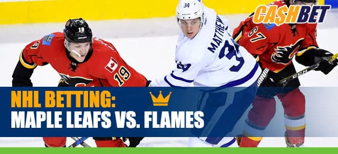 NHL betting: Toronto Maple Leafs vs. Calgary Flames