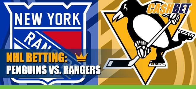 Pittsburgh Penguins vs. New York Rangers - NHL Betting