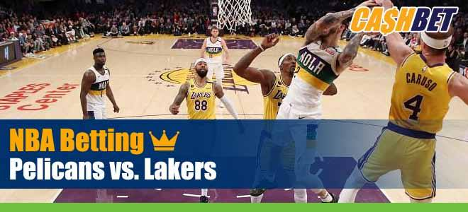 New Orleans Pelicans vs. Los Angeles Lakers NBA Betting Predictions, Previews and Game Analysis