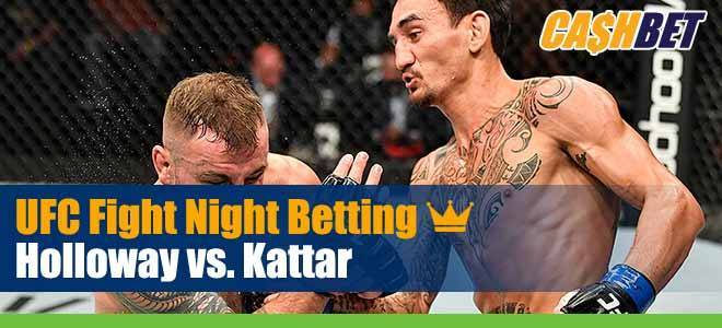 UFC On ABC 1 Betting: Holloway vs. Kattar Odds and Picks