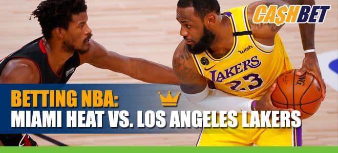 Miami Heat vs. Los Angeles Lakers NBA Betting Info